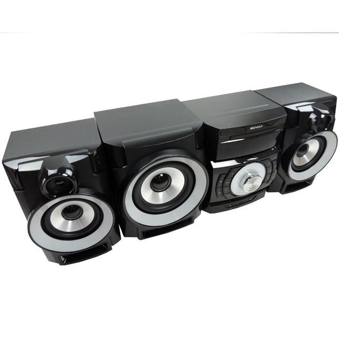 Mini System Benoá LY-M758 750W FM HDMI Karaokê com Controle Remoto