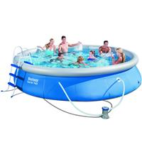 Piscina Bestway Fast Set Pool 57316 com Capa Escada Filtro e Forro
