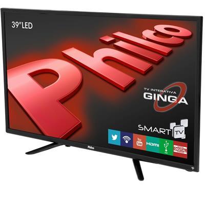 """Smart TV Philco PH39N86DSGW 39"""" LED HD HDMI USB"""