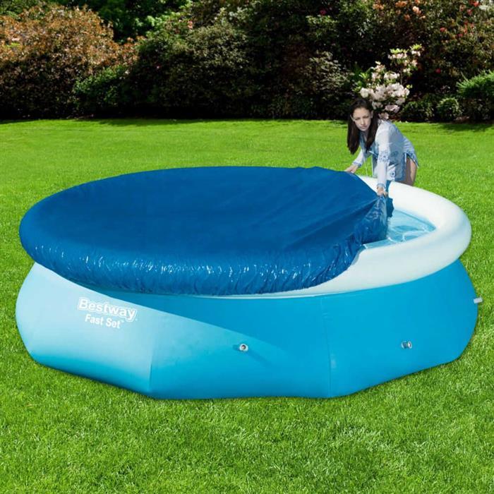 Capa para Piscina Bestway Fast Set Pool 58033 3.700 Litros
