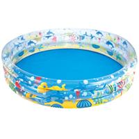 Piscina Infantil Bestway Deep Drive 3 Níveis 51005 480 Litros PVC