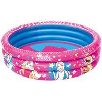 Piscina Infantil Bestway Barbie 3 Anéis 93205 200 Litros PVC
