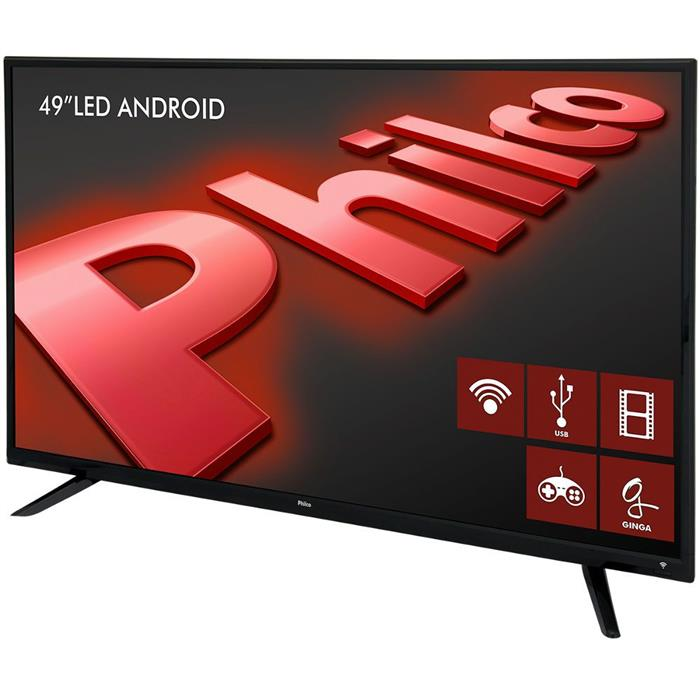 "Smart TV Philco PH49F30DSGWA 49"" LED Full HD Android HDMI USB"