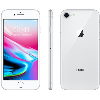 "Smartphone Apple iPhone 8 64 GB 4,7"" 2G iOS Hexacore Cam 12MP + Frontal 7MP"
