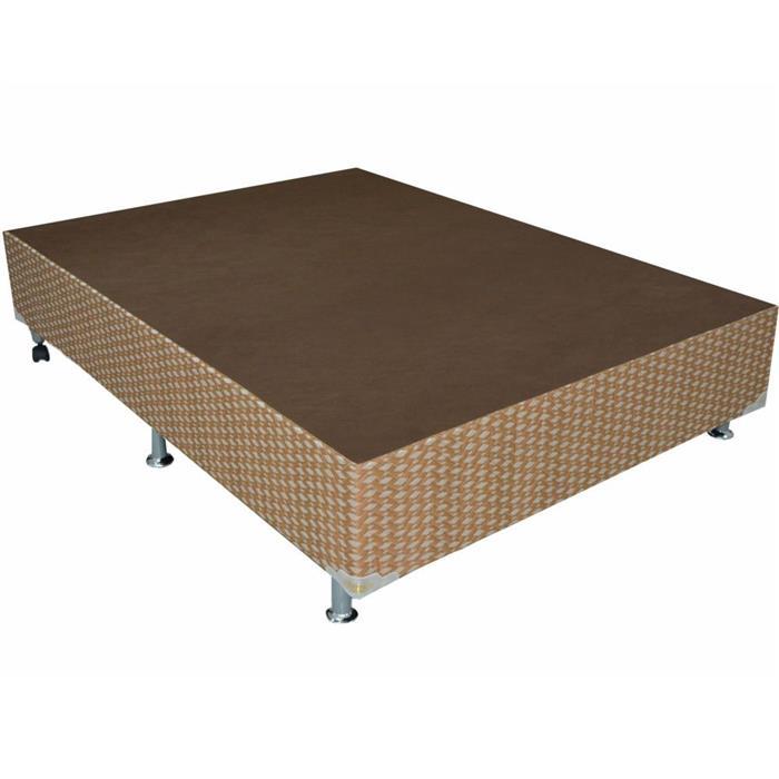 Conjunto Box Casal Ortobom Petrus Gold 28x138x188cm