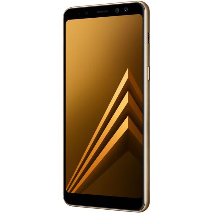 "Smartphone Samsung Galaxy A8 Tela 5,5"" 64GB 4GB RAM Câm 16MP + Frontal 8MP Octacore"
