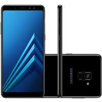 """Smartphone Samsung Galaxy A8 Plus Tela 6"""" 4GB RAM 64GB Câm 16MP + Frontal 8MP"""