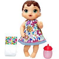 Boneca Hasbro E0499 Baby Alive Hora do Xixi Morena