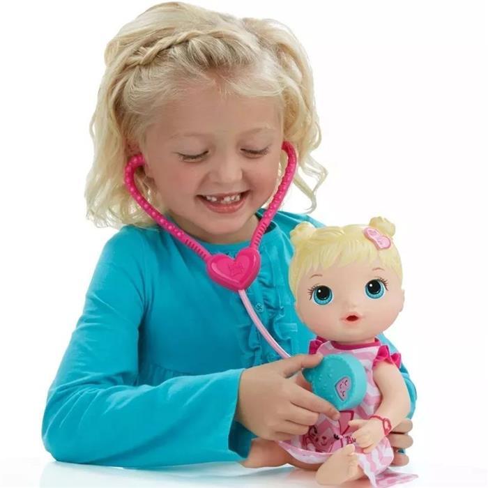 Boneca Hasbro C2691 Baby Alive Cuida de Mim Loira