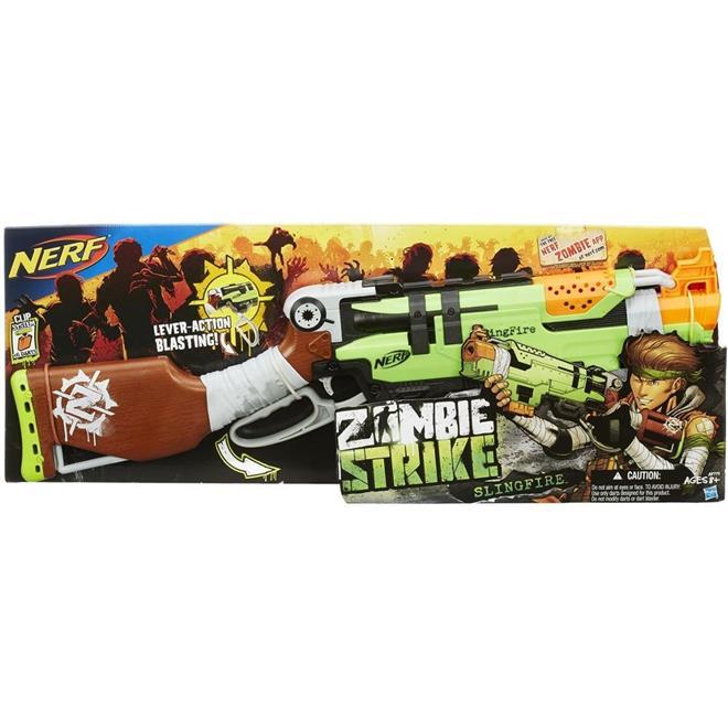 Lança Dardos Hasbro A8773 Nerf Zombie Slingfire
