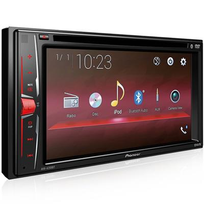 """Auto Rádio Pioneer AVH-A208BT com DVD 6.2"""" Bluetooth USB AM FM SW"""