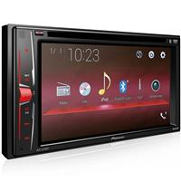 "Auto Rádio Pioneer AVH-A208BT com DVD 6.2"" Bluetooth USB AM FM SW"