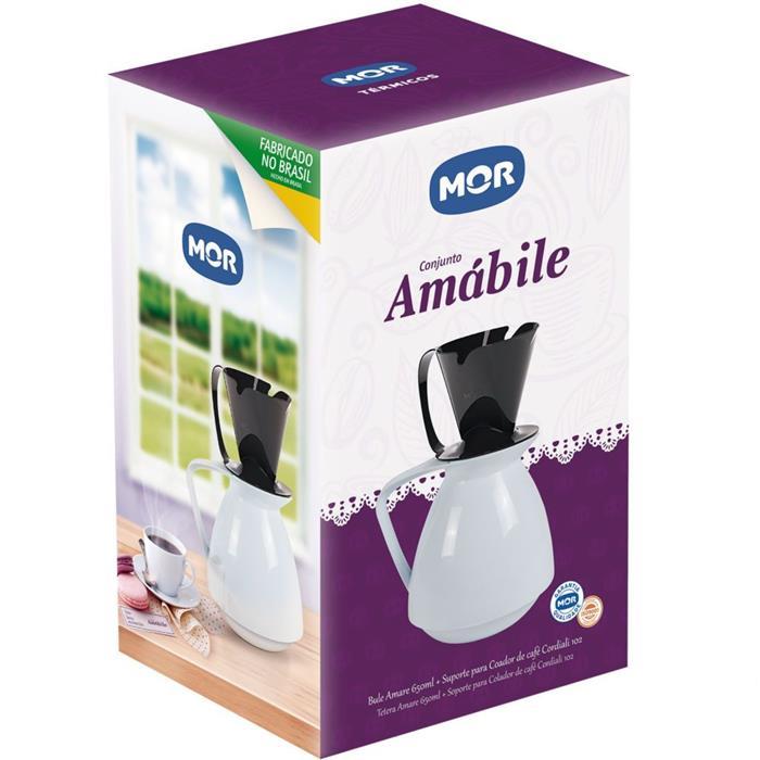Bule Mor Amabile 25107801 650ml com Coador