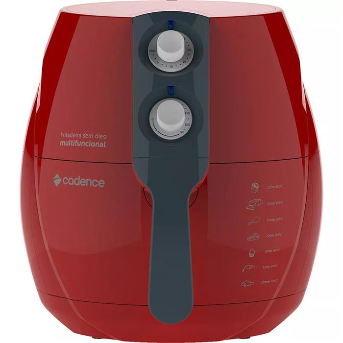 Fritadeira Elétrica Cadence Colors FRT541 2,3 Litros sem Óleo
