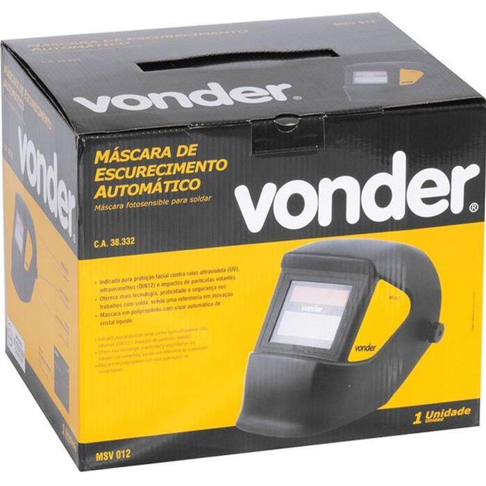 Máscara para Solda Vonder MSV012