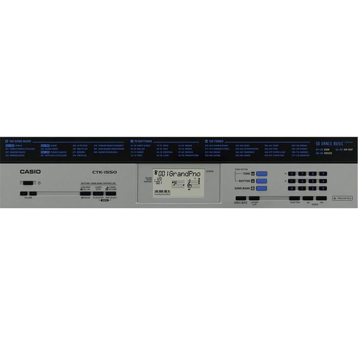 Teclado Eletrônico Casio CTK-1550 61 Teclas