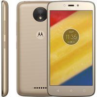 "Smartphone Motorola Moto C Plus Tela 5"" DualChip 24GB Quadcore 1GB RAM Câm 8MP + Frontal 2MP"