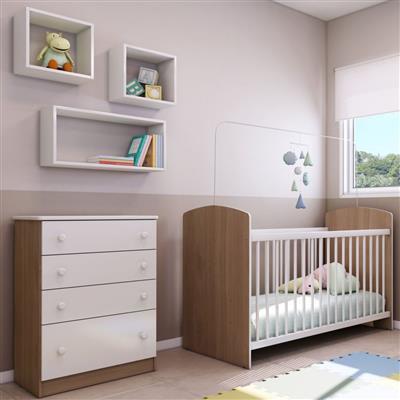 Cômoda Infantil Multimóveis 2661.936 4 Gavetas MDP