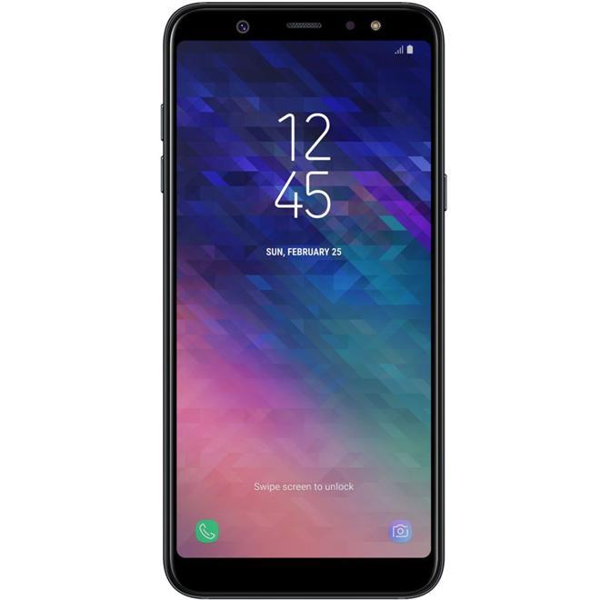 "Smartphone Samsung Galaxy A6 Plus Tela 6"" 64GB 4GB RAM Dual Chip Câm 16MP + 5MP + Frontal 24MP"