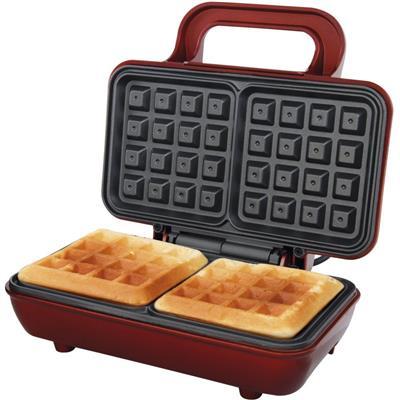 Máquina de Waffle Maker PWM01 Retrô com Porta Fio