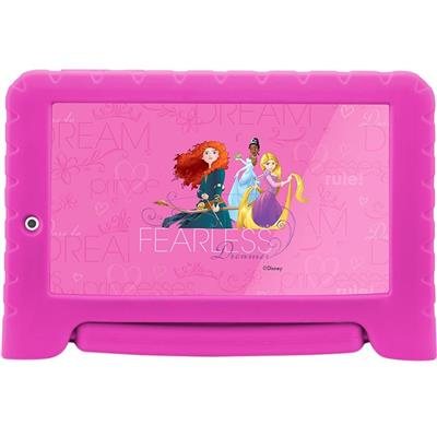 "Tablet Multilaser Princesas Plus NB281 Android 7"" 8GB 1GB RAM LCD"