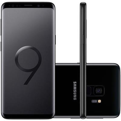 "Smartphone Samsung Galaxy S9 Tela 5.8"" 128GB 4GB RAM Câm 12MP Super Slow Motion + Frontal 8MP"