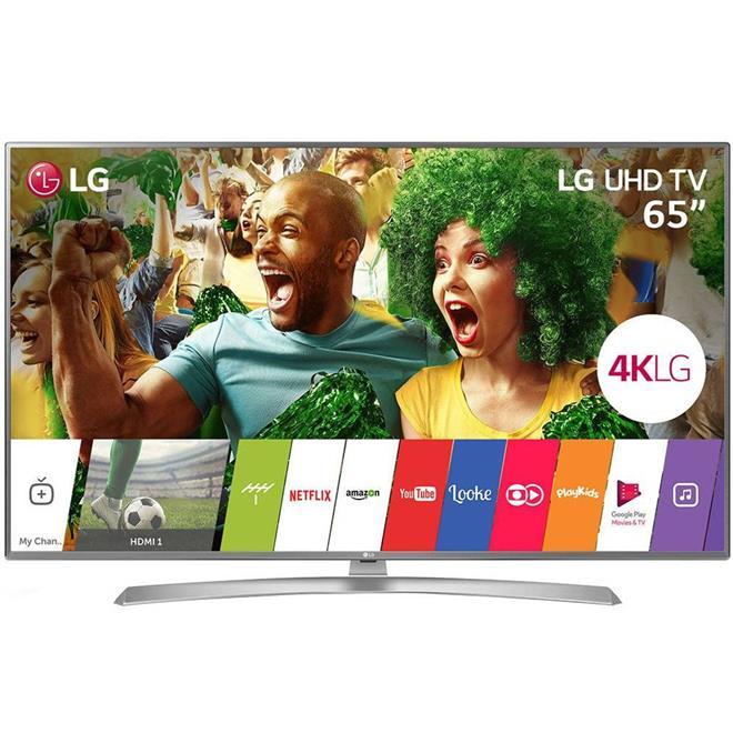 "Smart TV LG 65UJ6545.AWZ 65"" LED Ultra HD 4K WIFI USB"