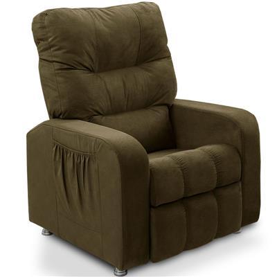 Cadeira do Papai JS Móveis Turin 1052/1053 Suede