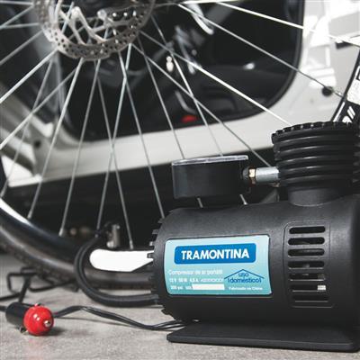 Compressor de Ar Tramontina 42330001 Portátil para Carro 12V