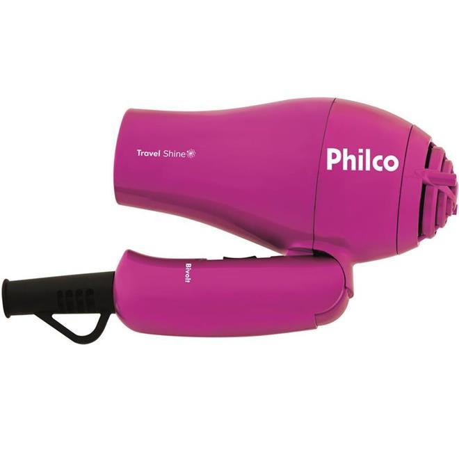 Secador de Cabelo Philco Travel Shine 2 Velocidades