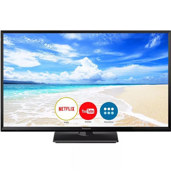 "Smart TV Panasonic TC-32FS600B 32"" LED HDMI USB WIFI"