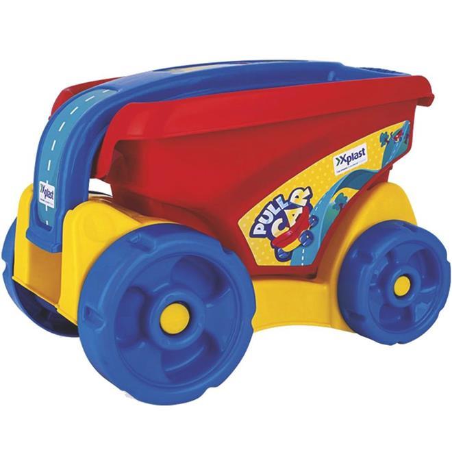 Carro Homeplay Pull Car Blocos 2091 com Puxador