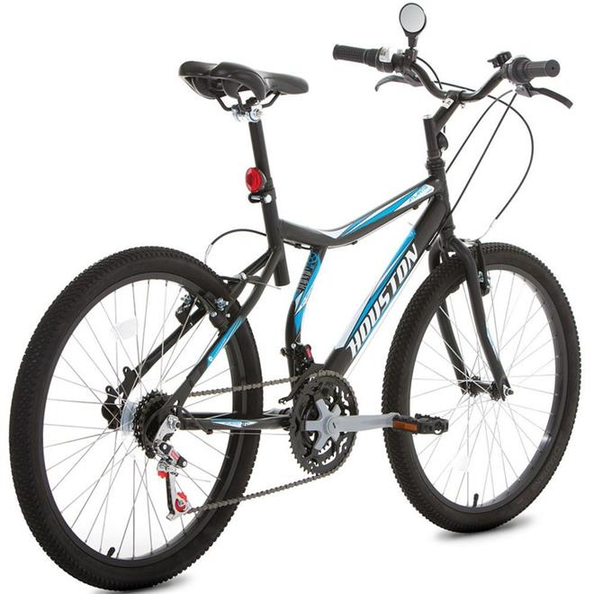 Bicicleta Houston Atlantis Land AT241Q Aro 24 21 Marchas V-Brake