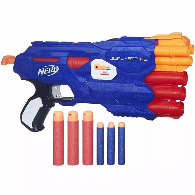 Lança Dardo Hasbro B4620 Nerf B4620 Nerf 6 Dardos