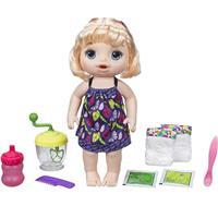 Boneca Hasbro Baby Alive Papinha Divertida E0586 com Acessórios
