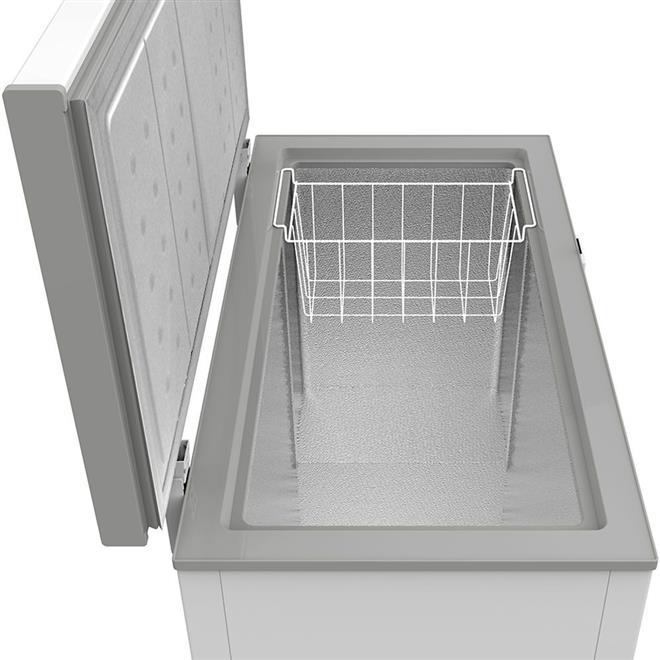 Freezer Horizontal Midea RCFA22 202 Litros Branco