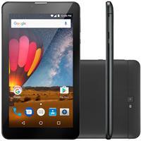 "Tablet Multilaser M7 Plus NB269 7"" Câm 8GB + 1GB 3G Wifi Bluetooth GPS"