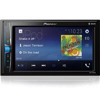 """Auto Rádio Pioneer MVH-A208VBT Bluetooth USB Tela 6.2"""" Câmera de Ré"""